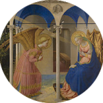 annonciation Fra_Angelico - ronde