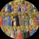 communion des saints original - ronde