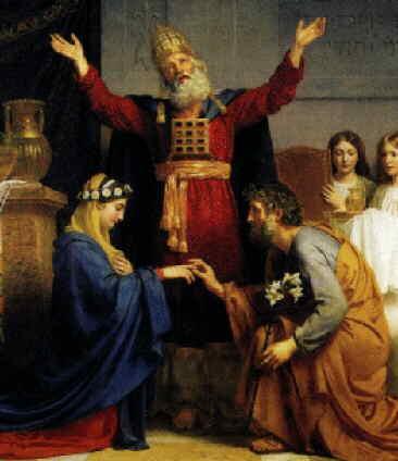 mariage marie et joseph