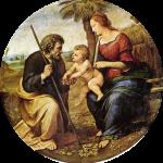 sainte famille ronde